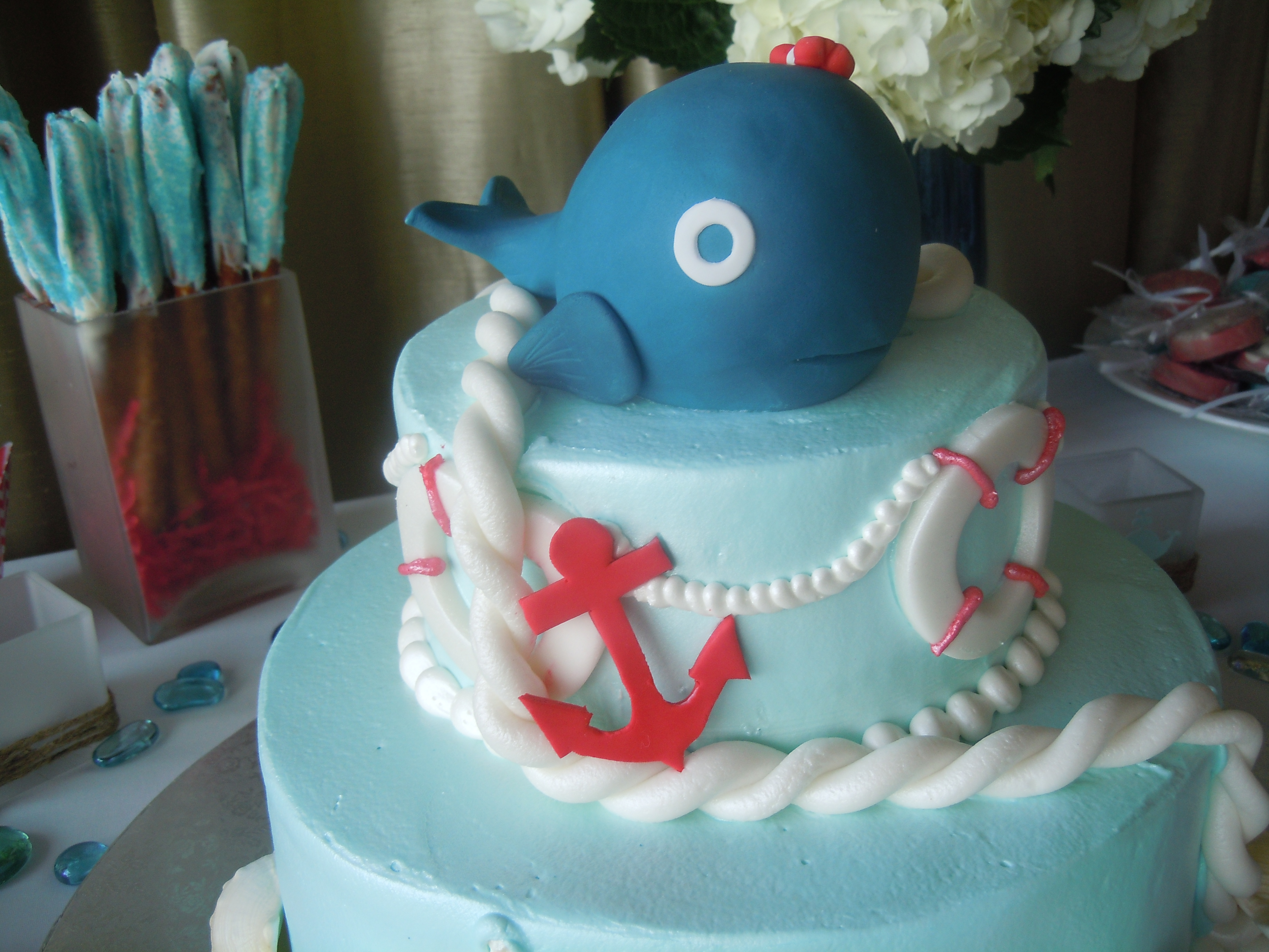 Seascape Shower Soiree for Special Baby on the Way