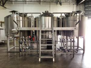 M.I.A. Brewing Co. set-up