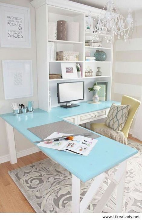 The Ultimate Desk... pops of color
